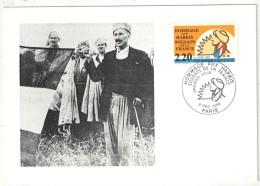 CM - Carte Maximum Card - 1989 - YT 2613 - Les Harkis - Maximum Cards