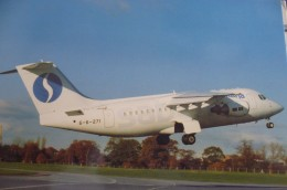 AIRLINES ISSUE / CARTE COMPAGNIE      SABENA   AVRO RJ 85 - 1946-....: Moderne