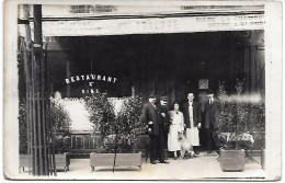 DEVANTURE DE RESTAURANT Non Située - CARTE PHOTO - Restaurants