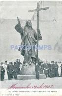 36790 ARGENTINA MENDOZA CORDILLERA DE LOS ANDES EL CRISTO REDENTOR YEAR 1903 POSTAL POSTCARD - Argentina