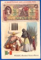 CHROMOS ET IMAGES A LA BELLE JARDINIÈRE MARCHAND POTIER A MEXICO PAPIER MONNAIE DANS LES DIVERS PAYS MEXIQUE - Autres