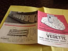 Machine à Laver Vedette Salons Lavoir Metz Usine Paris - Advertising