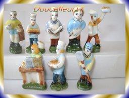Metiers : Les Rois Du Labo ...Lot De 8 Feves ... Ref AFF : 24-1996 ..( Pan 0013) - Anciennes