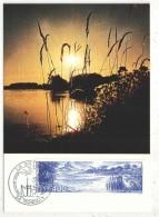 CM - Carte Maximum Card - 1989 - YT 2601 - La Brenne - Maximum Cards