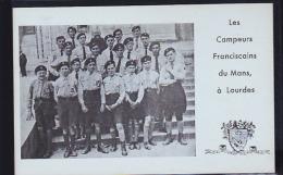 LOURDES FRANCISCAINS SCOUTISMES - Scoutisme