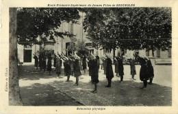 83  Brignoles  Ecole Primaire De Jeunes Filles Education Phisique   REF 132 - Brignoles