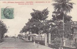 Afrique - Guinée - Konakry - Avenue De La Gare - Editeur Fortier - Guinea