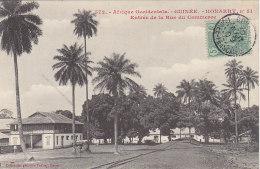 Afrique - Guinée - Konakry - Entrée Rue Du Commerce - Editeur Fortier - Guinea
