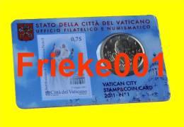Vaticaan - Vatican - 50 Cent Coincard 2011. - Vatican