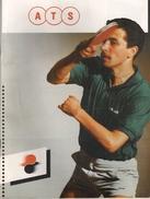 Catalogue ATS  Pour Objets En Rapport Avec Le Tennis De Table (64 Pages Couverture Comprise) - Tischtennis