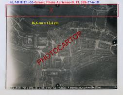SAINT MIHIEL-27-6-18-Destructions-Positions-Grosse PHOTO Aerienne Allemande-B. Fl. A. 298-Guerre 14-18-1 WK-France-55- - Saint Mihiel