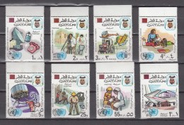 Qatar 1972,8V, Compl.set,United Nations Day,MNH/Postfris(A2448) - Qatar