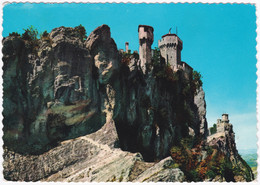 LE ANTICHE ROCCHE, THE OLD TOWERS, SAN MARINO. POSTED - San Marino