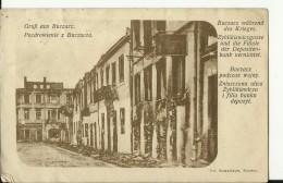 UKR52   --  GRUSS AUS BUCZACZ  --   DEPOSITEN BANK VERNICHTET  --  1916 - Ukraine
