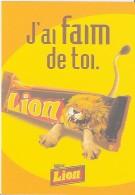 BOOMERANG FREE CARDS  -  LION  3X  FR - Advertising