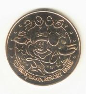 Monnaie De Paris 77.Disneyland N°9 Mickey Logo 2006 B - Monnaie De Paris