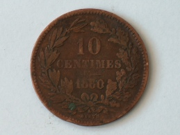 Luxembourg 10 Centimes 1860 - Luxembourg
