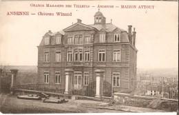 ANDENNE (5300) : Château Winand. Cliché Rare. CPA. - Andenne