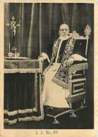 RITRATTO DI PAPA PIO XII NEI SUOI APPARTAMENTI. VIAGGIATA 1941 - Popes
