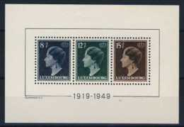 LUXEMBOURG   BLOC  N°3 - Blocks & Sheetlets & Panes