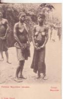 44-Conco Belga-Donne Mayumbes Tatuate-Tema:Donnine-Osé-Tatuaggi-v.1906 X Paris - Congo Belga - Altri