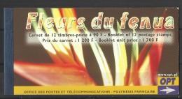 FRENCH.POLYNESIA  POLYNESIE  2004    FLOWERS  BOOKLET - Végétaux