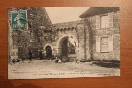 CPA 60 *  ST MARTIN AUX BOIS ENTREE DE L ANCIEN PRIEURE      REF 12 - France