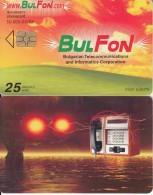BULGARIA - Irreality 1, Bulfon Cardphone, Bulfon Telecard 25 Units, Chip GEM6a, Tirage 44000, 03/03, Used - Bulgaria