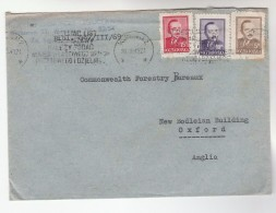 1949 Air Mail POLAND COVER Stamps To GB - Covers & Documents