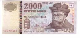 Hungary 2000 Forint (2013) UNC 3 Signatures - Hungary