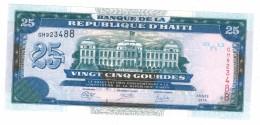Haiti, 25 Gulden 2014 , UNC, FREE SHIP. To U.S.A. - Haiti