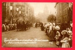 57. Metz. Arrivée Du Cortège Présidentiel. Souvenir Des Fêtes De La Libération D'Alsace-Lorraine. 1919 - Metz