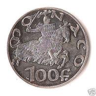 MONACO :  100 Francs Argent RAINIER III, 1997, Les 700 ANS Des GRIMALDI - Altri – Europa