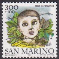 San Marino 1982 Pro Refugee MNH - Saint-Marin