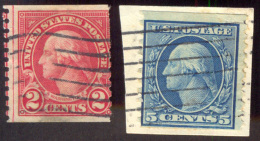 USA - AMERICA -  COILS  LOT - Blue Paper ?? - Cc 1910 - Rollenmarken