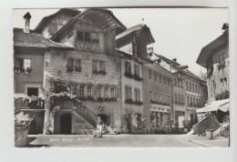 CPSM MORAT OU MURTEN (Suisse-Fribourg) - Centre Ville - FR Fribourg