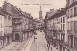 Cp , 88 , PLOMBIÈRES-les-BAINS , Rue Stanislas - Plombieres Les Bains