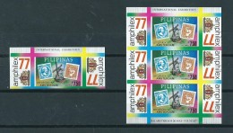 1977 Filippijnen Complete M/Sheet Amphilex´77+losse Zegel MNH/Postfris/Neuf Sans Charniere - Filippijnen