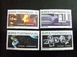 AFRIQUE DU SUD BOPHUTHATSWANA 1979 Exploitation Du Platine Yvert Nº 47 / 50 ** MNH - Bofutatsuana