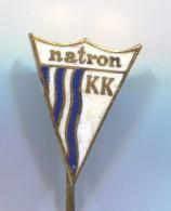 Rowing, Kayak, Canoe, Rafting - KK NATRON  Maglaj, Bosnia And Herzegovina, Enamel, Vintage Pin  Badge, BERTONI Milano - Canoeing, Kayak