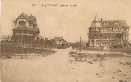 DE PANNE / BORTIER LAAN / AVENUE BORTIER - De Panne