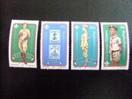 AFRIQUE DU SUD BOPHUTHATSWANA 1982 75º Anniversaire Du Scoutisme Yvert Nº 84 / 87 ** MNH - Bofutatsuana