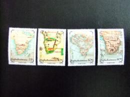 AFRIQUE DU SUD BOPHUTHATSWANA 1991 Cartes Ancienennes Antiguos Mapas Yvert Nº 306 / 309 ** MNH - Bofutatsuana