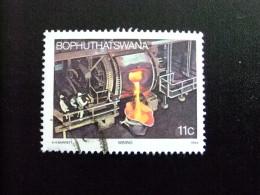 AFRIQUE DU SUD BOPHUTHATSWANA 1984 Fonderie Yvert Nº 120 º FU - Bofutatsuana