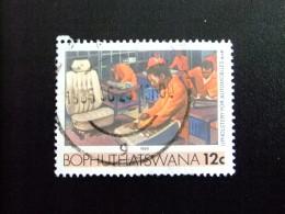AFRIQUE DU SUD BOPHUTHATSWANA 1985 Manufacture De Sièges AutosYvert Nº 139 º FU - Bofutatsuana