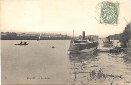78 YVELINES - POISSY La Seine - Poissy