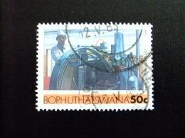 AFRIQUE DU SUD BOPHUTHATSWANA 1985 Imprimerie Yvert Nº 163 º FU - Bofutatsuana