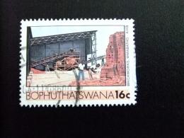 AFRIQUE DU SUD BOPHUTHATSWANA 1987 Manufacture De Briques Yvert Nº 169 º FU - Bofutatsuana
