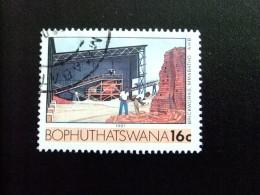 AFRIQUE DU SUD BOPHUTHATSWANA 1987 Manufacture De Briques Yvert Nº 185 º FU - Bofutatsuana