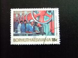 AFRIQUE DU SUD BOPHUTHATSWANA 1989 Coutellerie Yvert Nº 222 º FU - Bofutatsuana